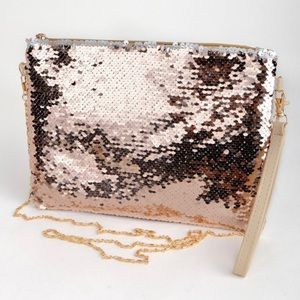 Handbags - 👻 MUST-HAVE FALL PURSE!  Sequined Shoulder Purse